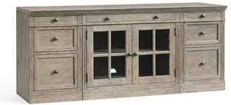 Pottery Barn Livingston Small TV Stand with Drawers