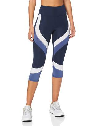 Aurique BAL1103 Gym Leggings Women (Black/White/Nightshade) 8 (Size:XS)