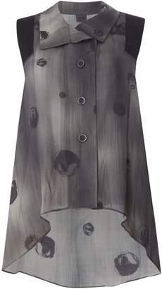 Crea Concept Stripe sleevless blouse