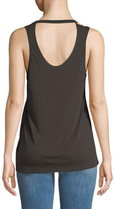 Chaser Bisous Graphic Muscle Tee