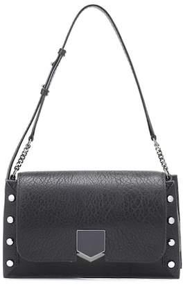 Jimmy Choo Lockett leather shoulder bag