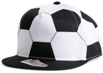 H&M Patterned Cap - Black