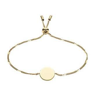 Fossil Women's Disc -Tone Stainless Steel Bracelet
