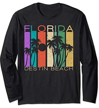 Unisex Destin Beach Florida Long Sleeve Shirt Destin Beach Souvenir Large