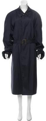 Hermes Long Trench Coat