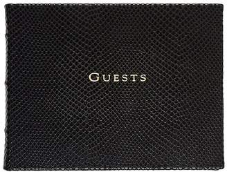 Barneys New York Leather Guest Book