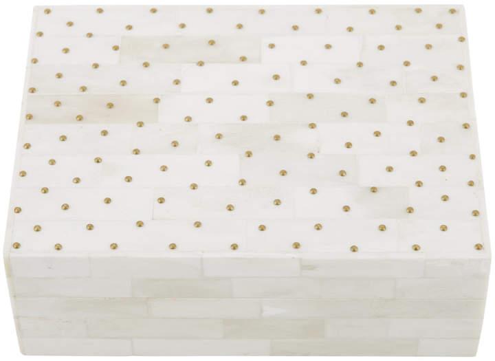 A by Amara - Bone/Dots Box