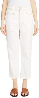 Loewe Contrast Stitch Fisherman Jeans