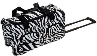 Rockland 22 Rolling Duffel Bag-Animal Print