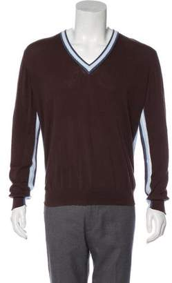 Dolce & Gabbana Knit V-Neck Sweater