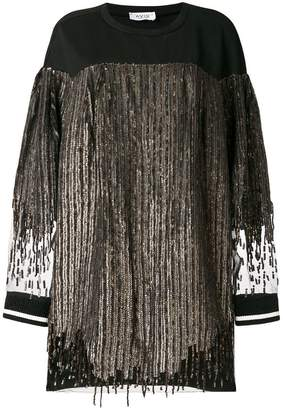 Aviu sequin oversized dress