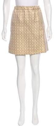 Marni Metallic Brocade Skirt