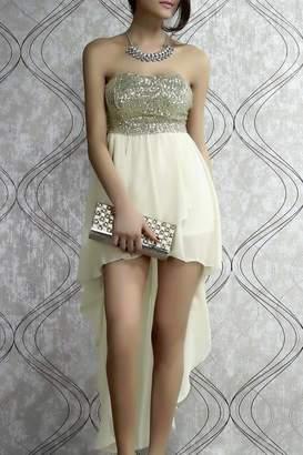 c8b07029c4 at Shoptiques · Adore Clothes   More Gold Sequin Dress