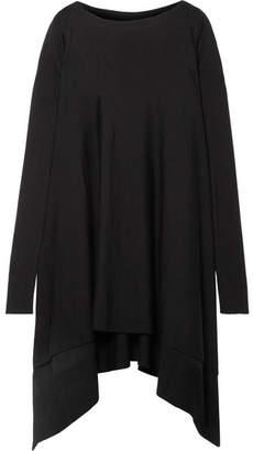 Rick Owens Oversized Asymmetric Wool Sweater - Black