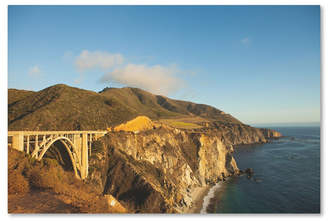 "Ariane Moshayedi 'Bixby Bridge' Canvas Art - 22"" x 32"""