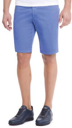 Stefano Ricci Slim-Fit Denim Shorts