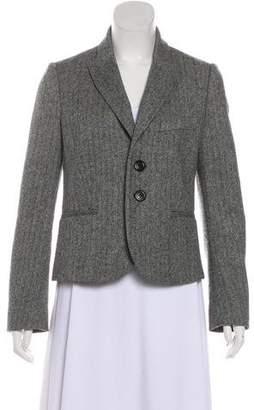 RED Valentino Wool Button-Up Blazer