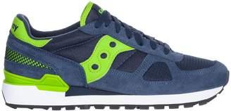Saucony Shadow Navy/green Sneakers