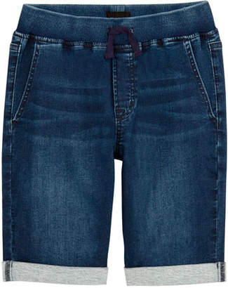 Hudson Boys' Taj Drawstring Denim Shorts, Size 4-7