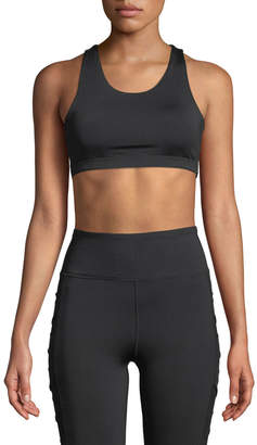 Sam Edelman Strappy Racerback Sports Bra