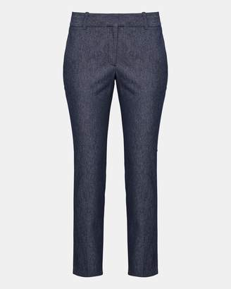 Theory Stretch Denim Straight Trouser