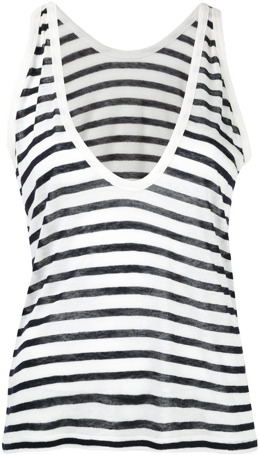 Alexander Wang T By Alexander Wang striped tank top