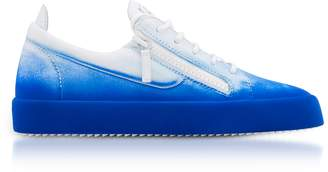 Giuseppe Zanotti New Unfinished Leather Low Top Men's Sneakers