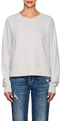 Current/Elliott Women's Open-Back Cotton-Blend Sweatshirt