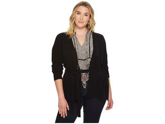 Lucky Brand Plus Size Darcey Cardigan Women's Sweater
