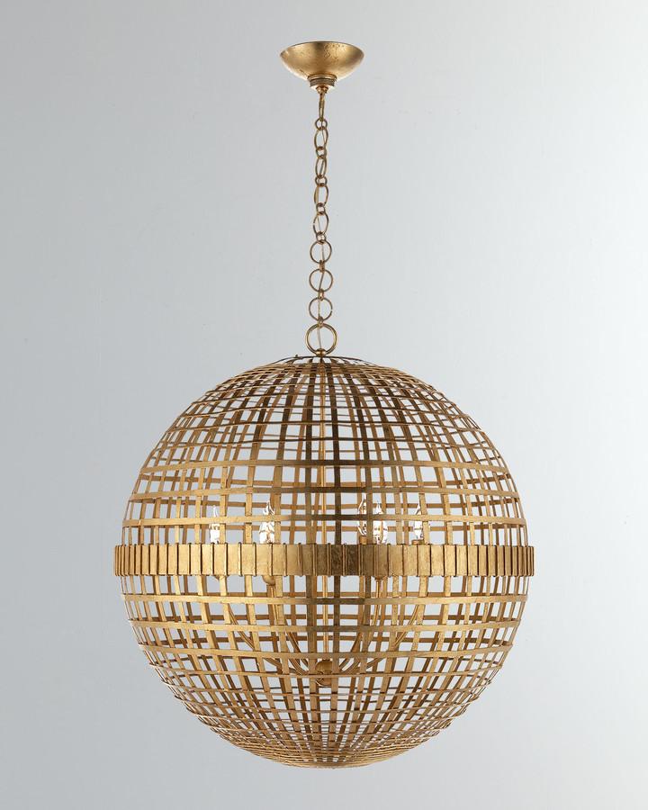 Aerin Mill Large Globe Lantern