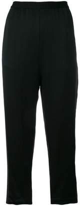 Ilaria Nistri metallic stripe cropped trousers