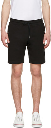 Moncler Black Side Stripes Shorts $215 thestylecure.com