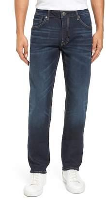 Vigoss Slim Straight Leg Jeans (Medium Wash)