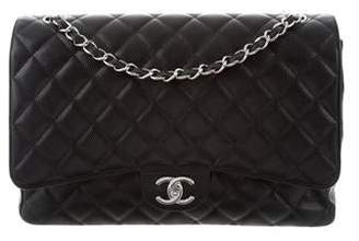 Chanel Caviar Classic Maxi Double Flap Bag