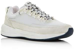A.P.C. Men's Techno Homme Reflective Lace Up Sneakers Shoes
