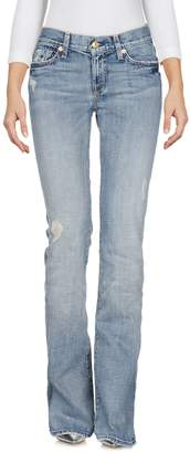 7 For All Mankind Denim pants - Item 42661549CQ