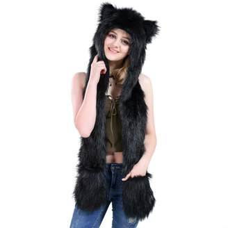 Spirit Hoods HatButik cat City Hunter Animal FULL Hoods Hat