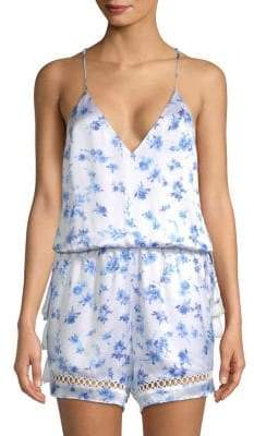 CAMI NYC The Chandler Floral Romper