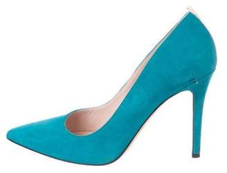 Sarah Jessica Parker Suede Pointed-Toe Pumps