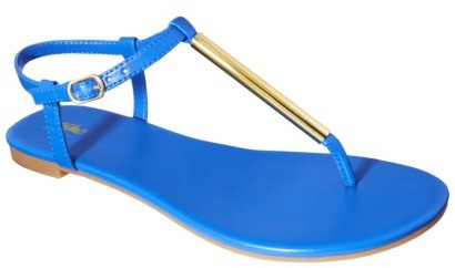 Women's Mossimo® Poeske Flat Sandal - Assorted Colors