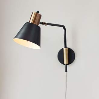west elm + Rejuvenation Cylinder Sconce - Adjustable