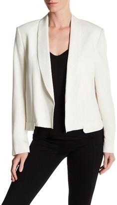 Helmut Lang Stripe Shawl Collar Blazer $695 thestylecure.com