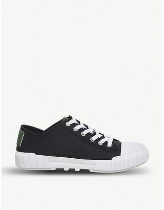 Office Bianca low-top canvas trainer