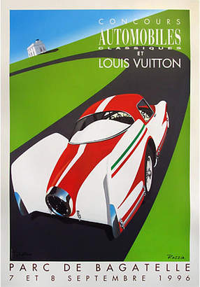 One Kings Lane Vintage LV Classic Car Competition 1996 Poster - Vintage European Posters