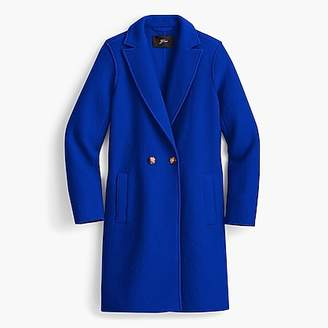 J.Crew Daphne topcoat in Italian boiled wool