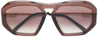 Celine (セリーヌ) - Céline Eyewear geometric shaped sunglasses