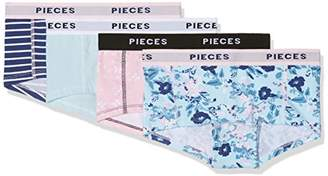 Pieces NOS Women s Pclogo Lady Boxers14-249 Flower Pc 4pack Boy Short 7683f3532