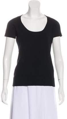 Dolce & Gabbana Knit Short Sleeve Top
