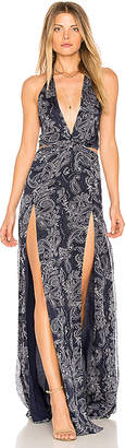 The Jetset Diaries Cut out Maxi Dress