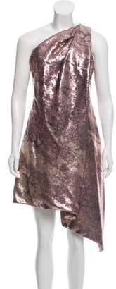 Kaufman Franco KAUFMANFRANCO Sequined One-Shoulder Dress w/ Tags